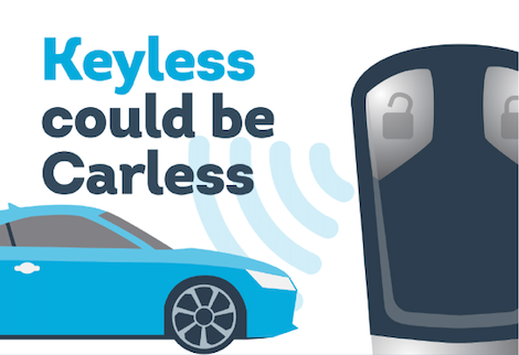 keyless could be carless heading